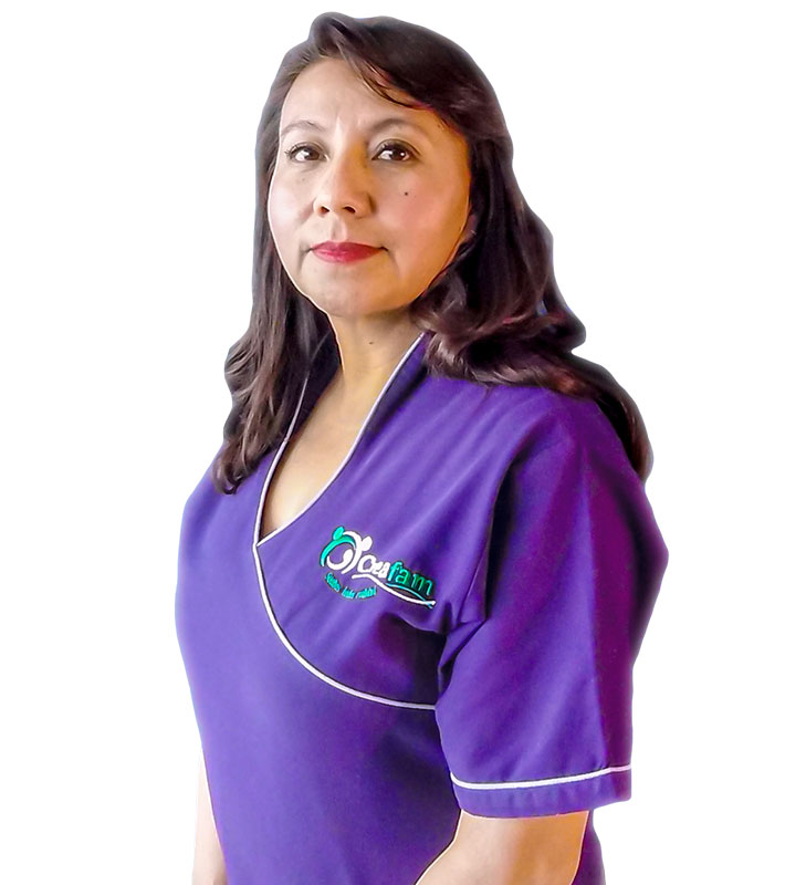Nurse Alicia Huesca V.